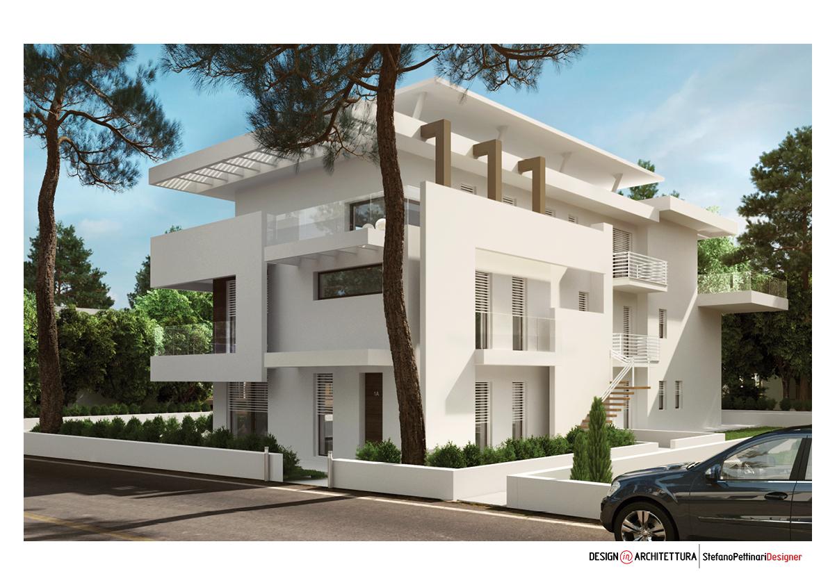 Villa o condominio fano pu for Architettura residenziale contemporanea